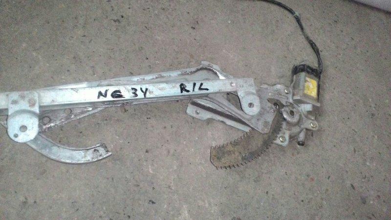 Стеклоподъемный механизм Nissan Laurel NC34 RB20DE задний левый