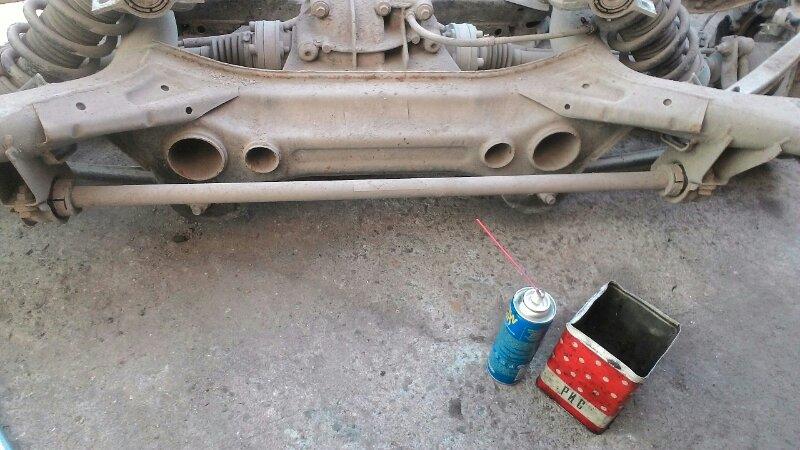 Стабилизатор Volkswagen Touareg 7L6 BMX 3 2 задний