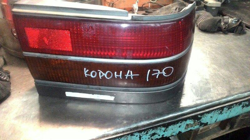 Фонарь Toyota Corona AT170 задний правый