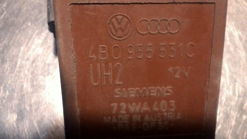 Реле управления стеклоочистителей Volkswagen Passat В5 AMX 2 8