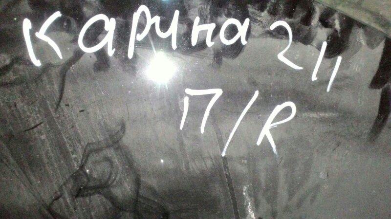 Стекло двери Toyota Carina AT211 7AFE переднее правое