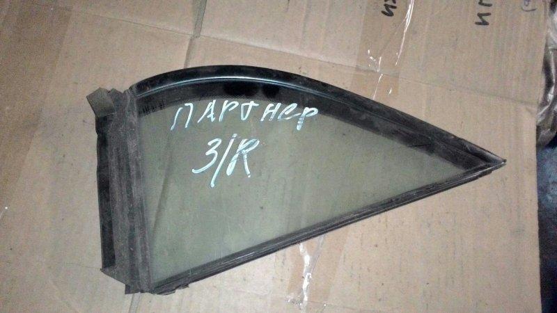 Форточка двери Honda Partner EY7 D15B задняя правая