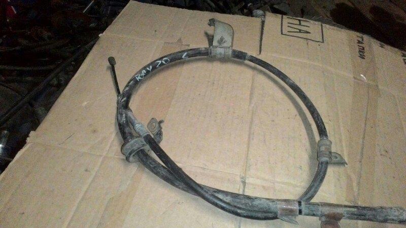 Тросик ручника Toyota Rav 4 ACA25 задний левый
