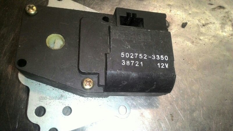 Сервопривод заслонок печки Subaru Forester SF5 EJ205T
