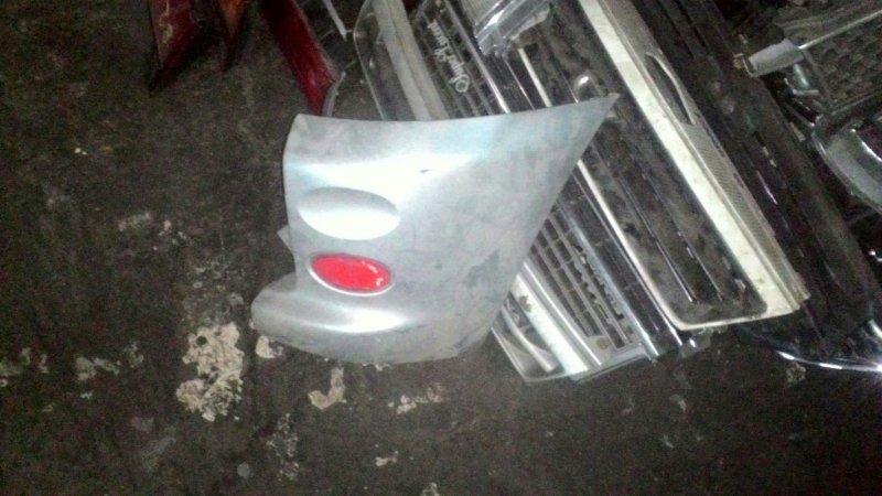 Накладка на бампер Toyota Funcargo NCP20 1NZ-FE задняя правая