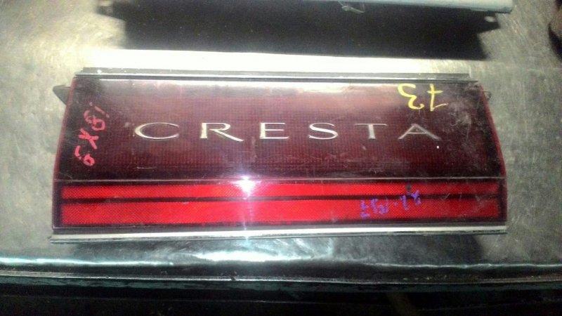 Фальшпанель Toyota Cresta GX81 1GFE