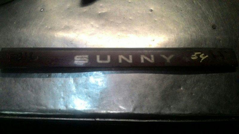 Фальшпанель Nissan Sunny B12 E13S