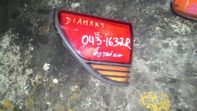 Вставка в крышку багажника Mitsubishi Diamante задняя левая
