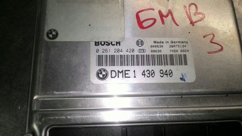 Блок управления двс Bmw 3 Series E36 M43 B18