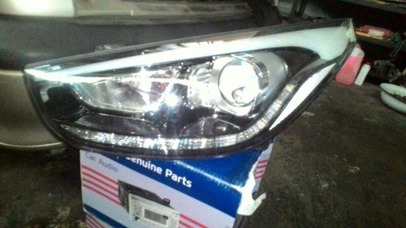 Фара Hyundai Santa Fe CM G4KE передняя левая