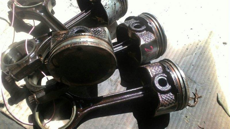 Шатун с поршнем Mazda Demio DY3W ZJVE