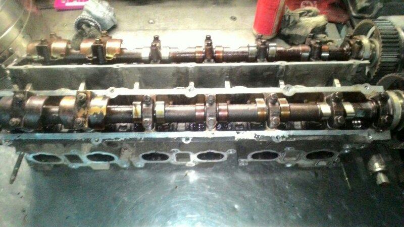 Головка блока цилиндров Nissan Laurel NC34 RB20DE