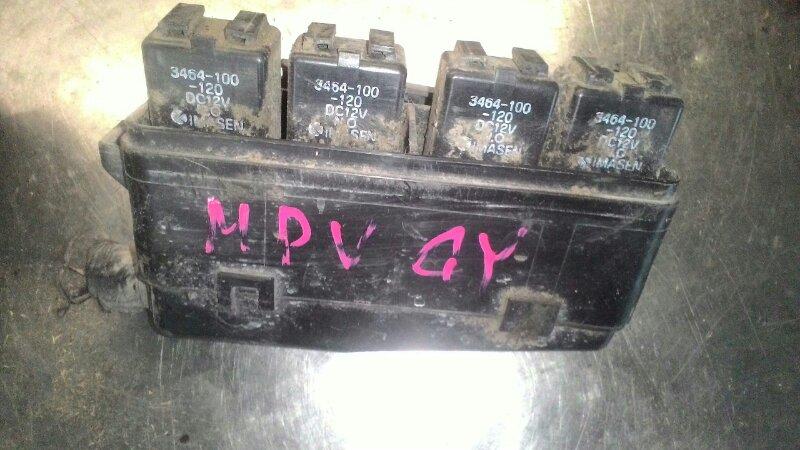 Блок предохранителей Mazda Mpv LW5W GY задний