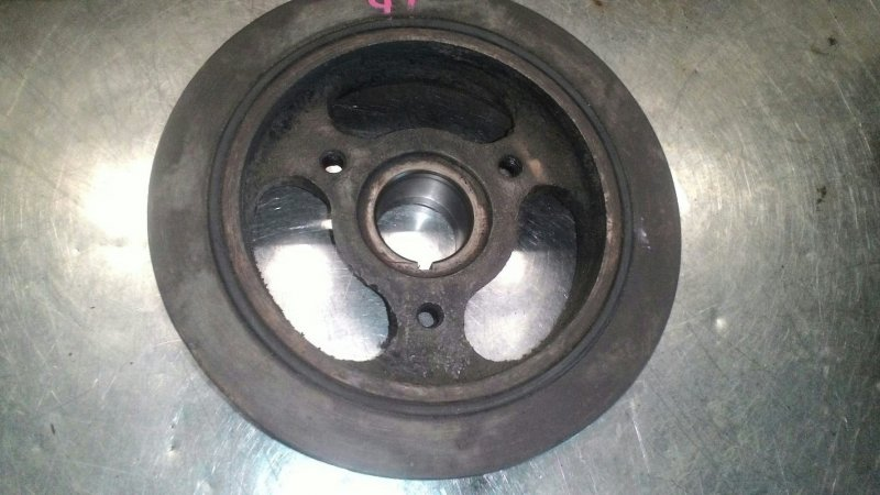 Шкив коленвала Mazda Mpv LW5W GY