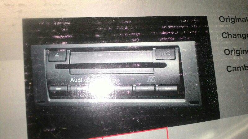 Магнитофон Audi