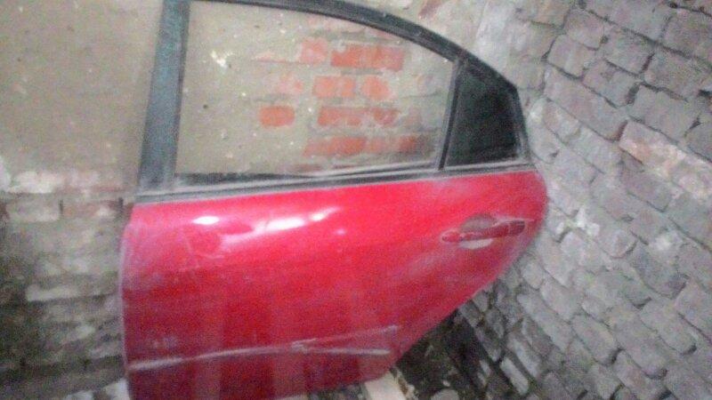 Дверь боковая Mazda Atenza задняя левая