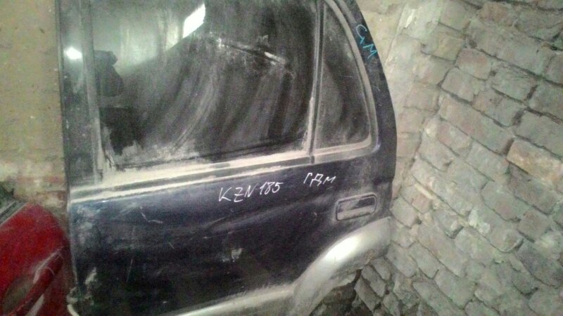 Дверь боковая Toyota Hilux Surf KZN185 1KZTE задняя левая