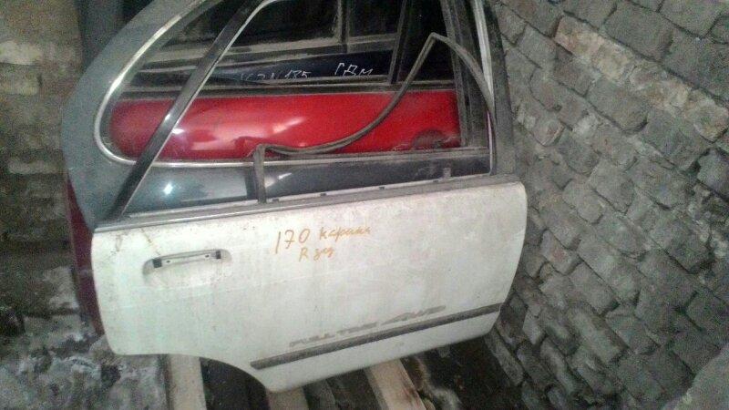 Дверь боковая Toyota Carina AT175 задняя правая