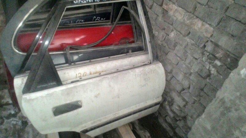Дверь боковая Toyota Sprinter АЕ90 5A-FE задняя правая