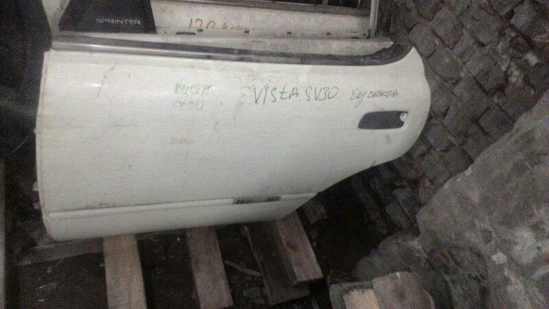 Дверь боковая Toyota Vista SV30 задняя левая