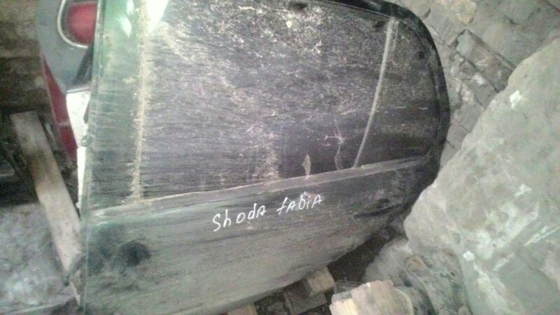 Дверь боковая Skoda Fabia 6Y3 BBY задняя левая