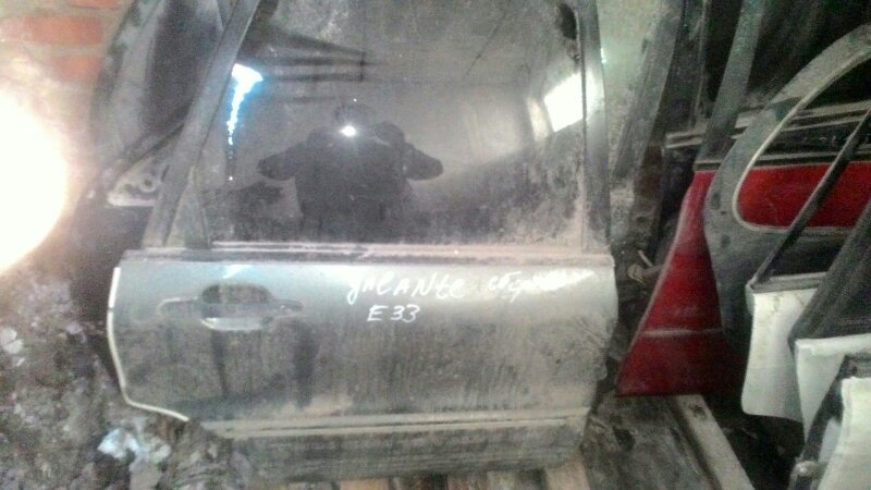Дверь боковая Mitsubishi Galant E33A задняя правая
