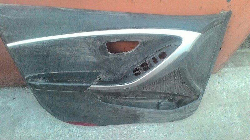 Обшивка двери Hyundai Sonata передняя левая