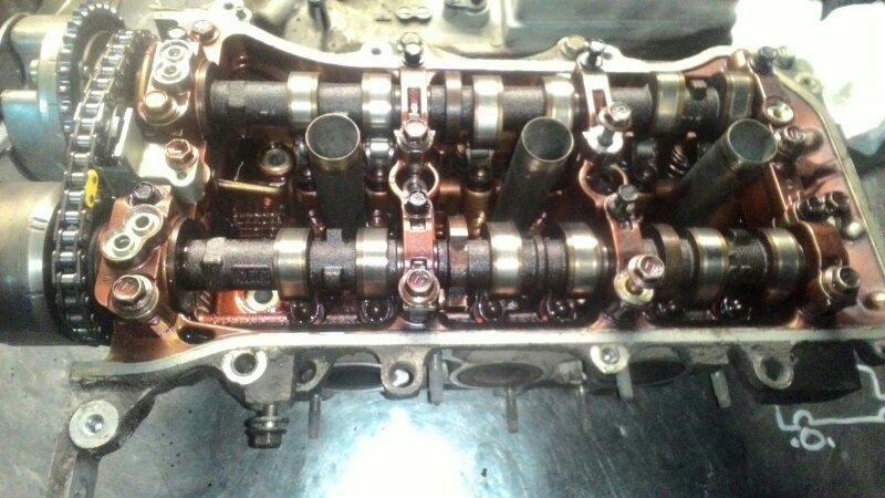 Головка блока цилиндров Toyota Highlander GSU45 2GR-FE