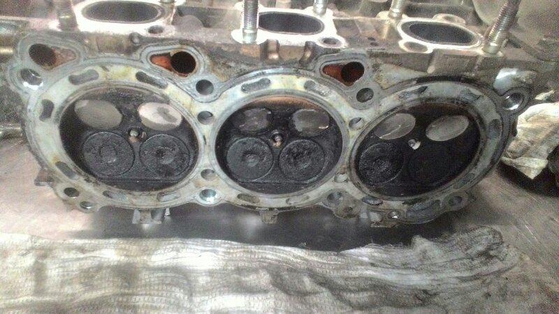 Головка блока цилиндров Nissan Murano Z50 VQ 35DE