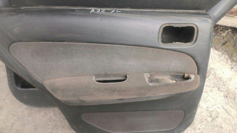 Обшивка двери Nissan Cefiro А32 VQ20DE задняя левая