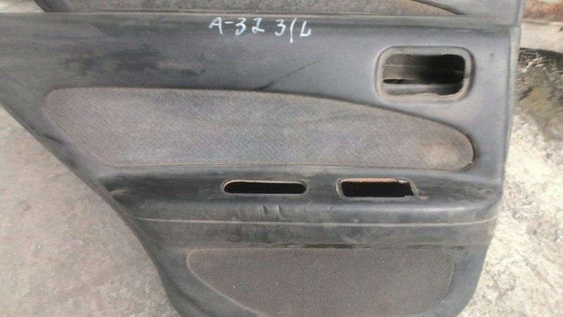 Обшивка двери Nissan Cefiro А32 задняя левая