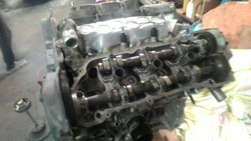 Двигатель Toyota Harrier MCU15 1MZ FE