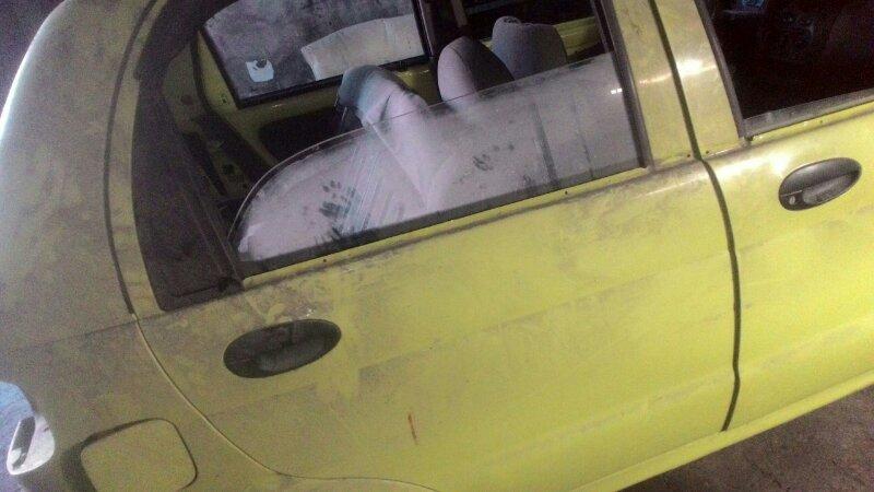 Дверь боковая Daewoo Matiz KLYA F8CV задняя правая