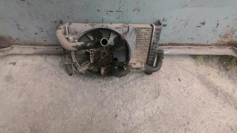 Радиатор двс Daewoo Matiz KLYA F8CV