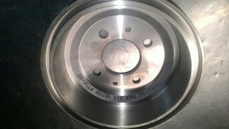 Тормозной барабан Hyundai Accent