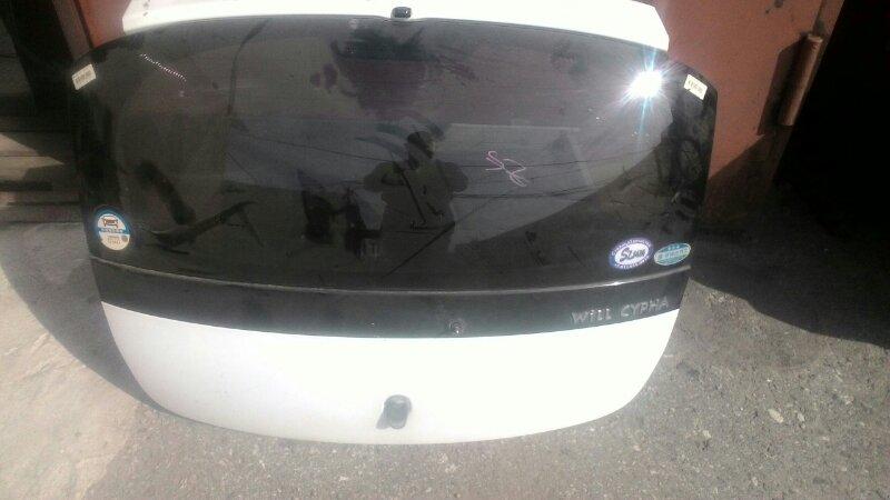 Дверь багажника Toyota Will Cypha NCP70 2NZFE