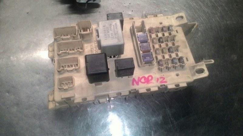 Блок предохранителей Toyota Platz NCP12 1NZFE