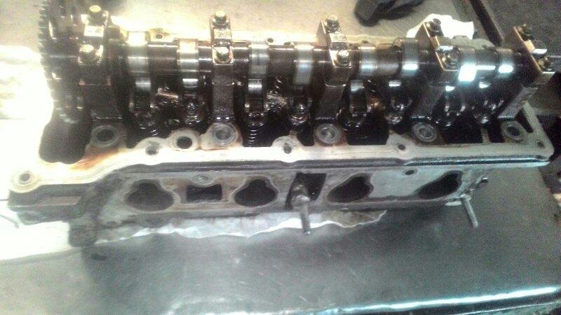 Головка блока цилиндров Ford Focus 1 CDDA ROCAM