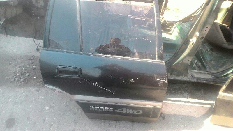 Дверь боковая Toyota Sprinter Carib AE 95 4A-FHE задняя правая