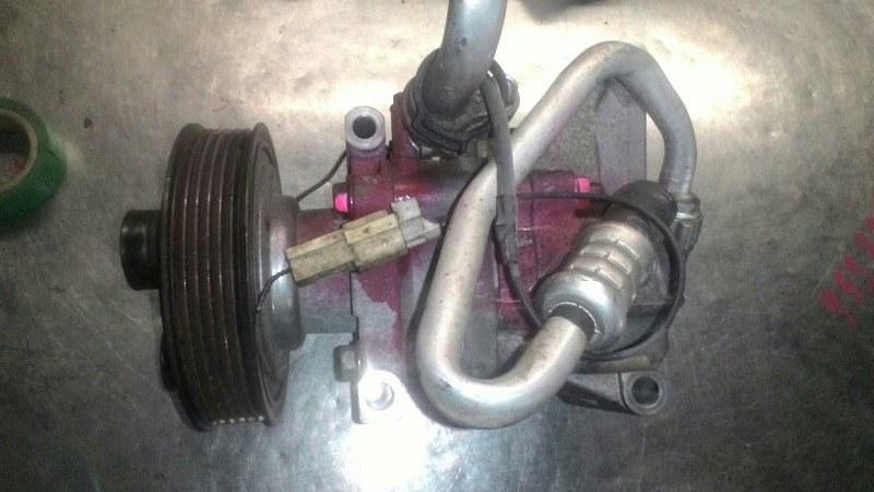 Компрессор кондиционера Mazda Demio DE ZJVE