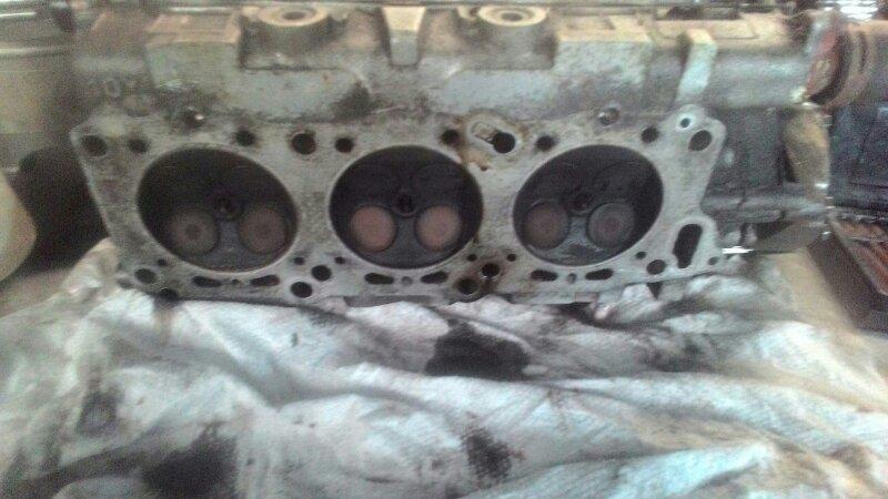 Головка блока цилиндров Nissan Leopard JPY32 VG30DE