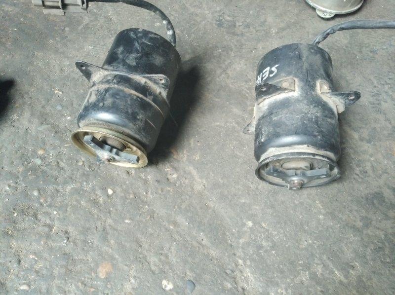 Мотор вентилятора охлаждения Nissan Serena C23 CD20