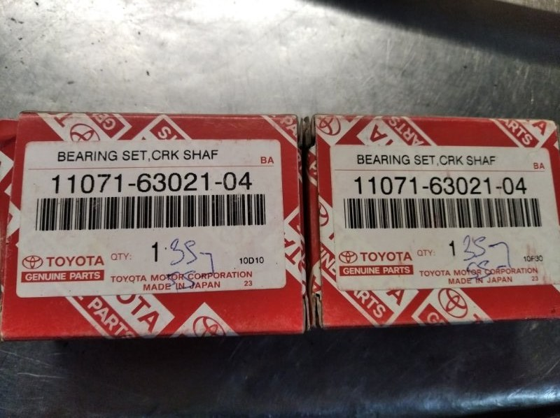 Вкладыши коренные Toyota Corona Premio ST215 3S-FE