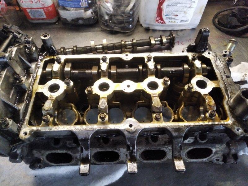 Головка блока цилиндров Nissan Tiida JC11 MR18DE
