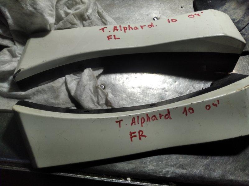 Накладка на крыло Toyota Alphard ATH10W 1AZ FSE