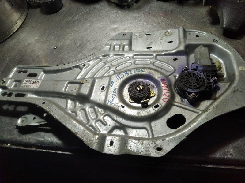 Стеклоподъемный механизм Hyundai Tucson D4KE передний левый