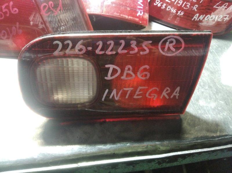 Вставка в крышку багажника Honda Integra DB6 D15B задняя правая