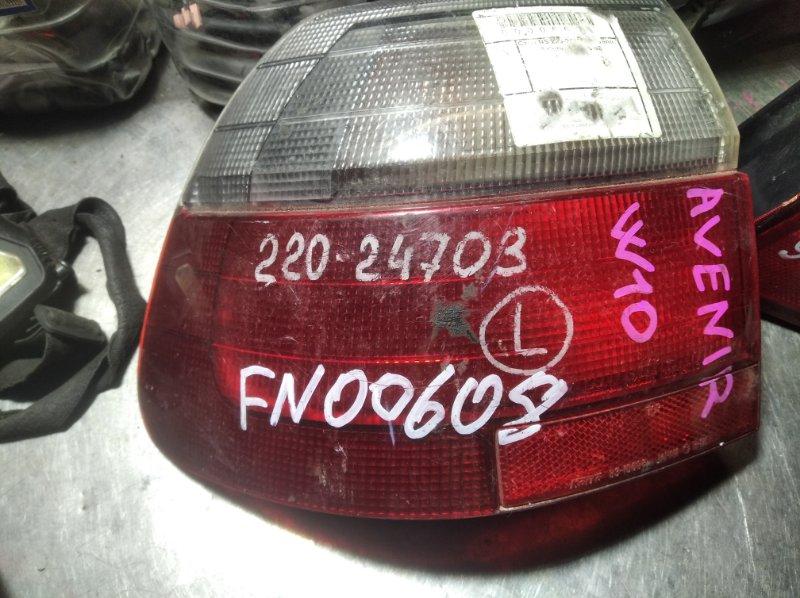Фонарь Nissan Avenir W10 SR20DE задний левый