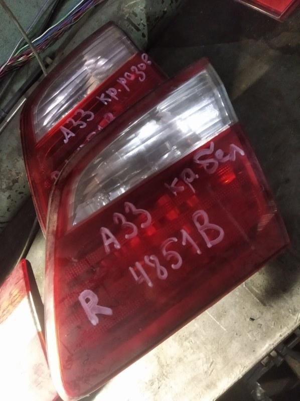 Вставка в крышку багажника Nissan Cefiro A33 VQ25DD задняя правая