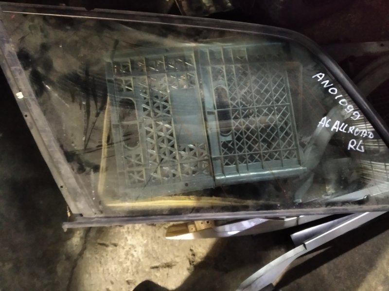 Стекло собачника Audi Allroad 4B BAU заднее левое